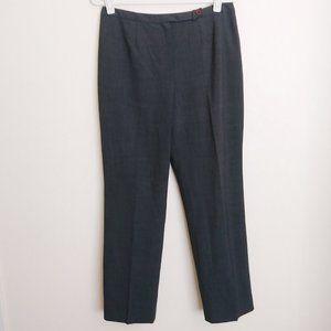 Ann Taylor Loft  Gray Stretch Wool Blend Trouser